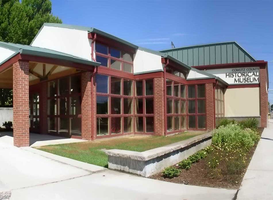 cowlitz county entry - architectural services firm longview wa designs civic centers