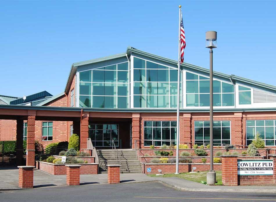 cowlitz county exterior center - architectural services firm longview wa designs civic centers