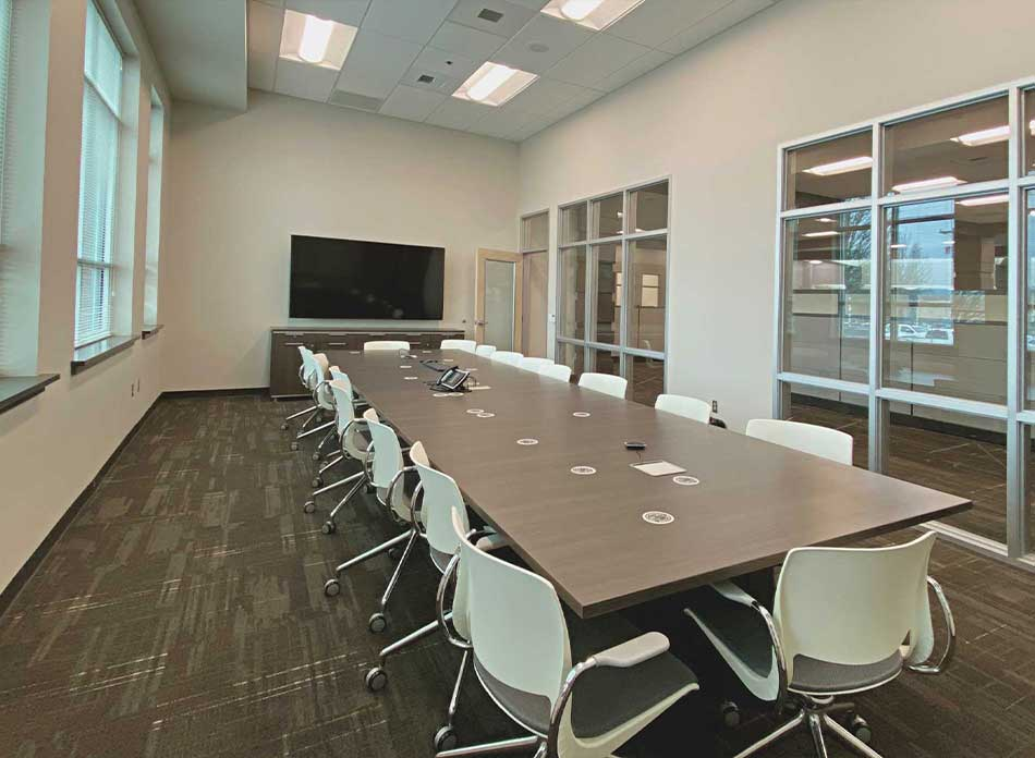 cowlitz county conference room - architectural services firm longview wa designs civic centers
