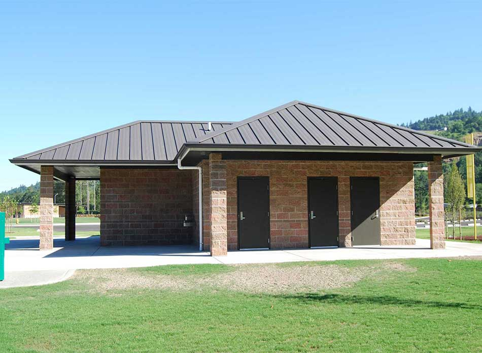 haydu park building - architectural services firm longview wa designs civic public parks