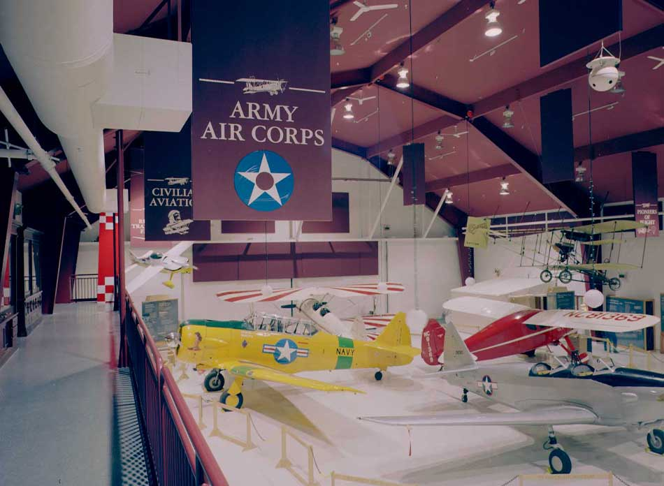 pearson field building hanger - architectural services firm longview wa designs civic museums