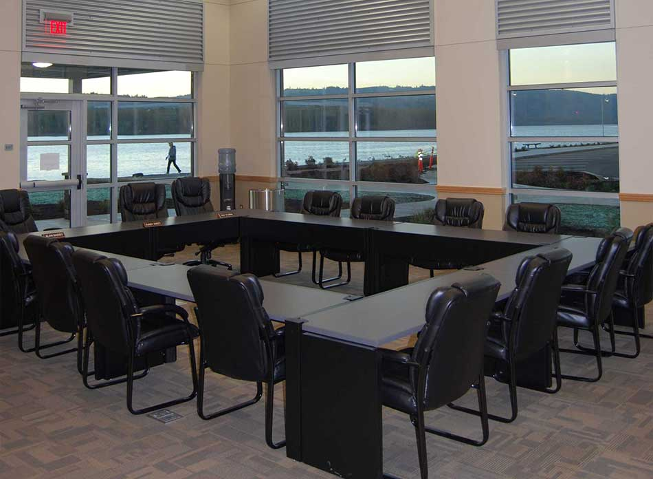 port of kalama conference room - architectural services firm longview wa designs civic admin