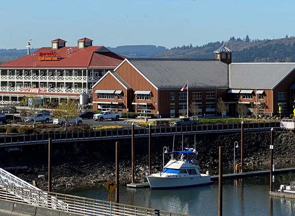 port of kalama exterior water - architectural services firm longview wa designs civic admin