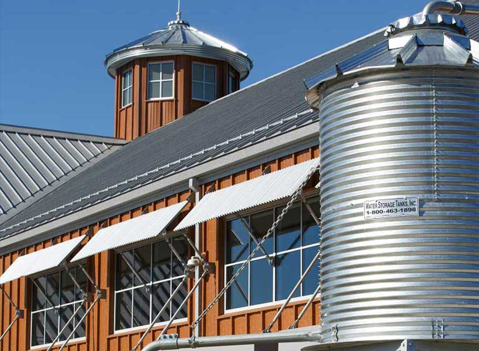port of kalama water tower - architectural services firm longview wa designs civic admin