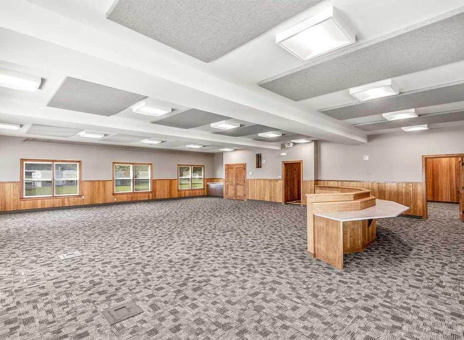 port of longview commission room - architectural services firm longview wa designs civic admin