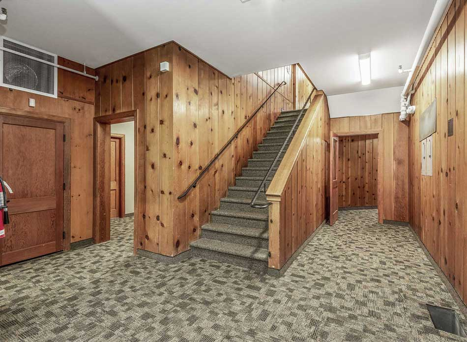 port of longview staircase - architectural services firm longview wa designs civic admin
