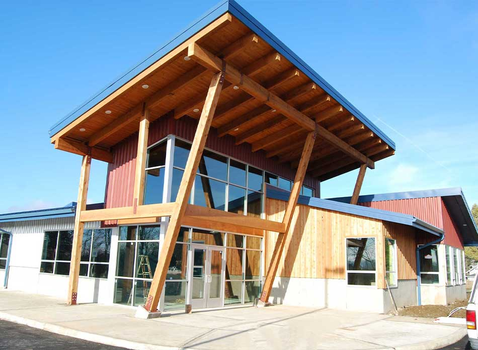 alta forest products exterior - architectural services firm longview wa designs commercial