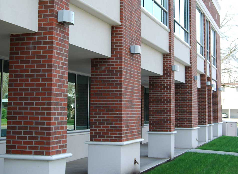 longview civic center columns - architectural services firm longview wa designs civic centers