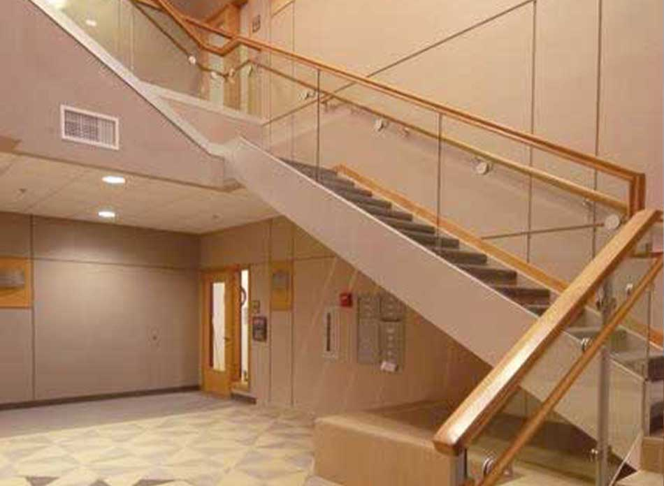 longview civic center stairs - architectural services firm longview wa designs civic centers