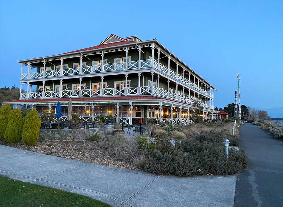 mcmenamins inn exterior 4 - architectural services firm longview wa designs hotels restaurants