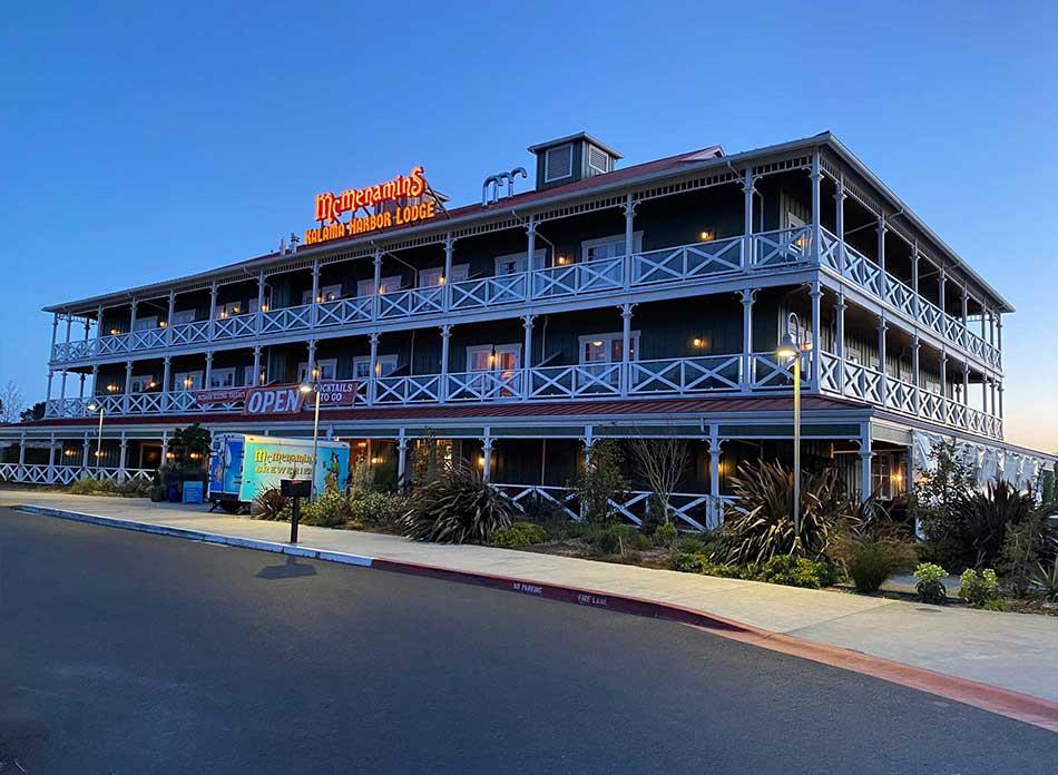 mcmenamins inn exterior 5 - architectural services firm longview wa designs hotels restaurants