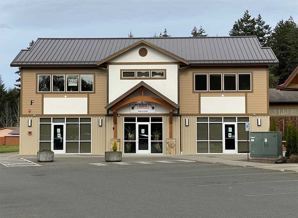 steamboat square exterior 2 - architectural services firm longview wa designs retail building