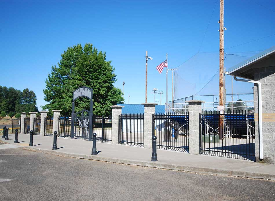 Catlin Rotary Spray Park exterior - architectural services firm longview wa designs parks