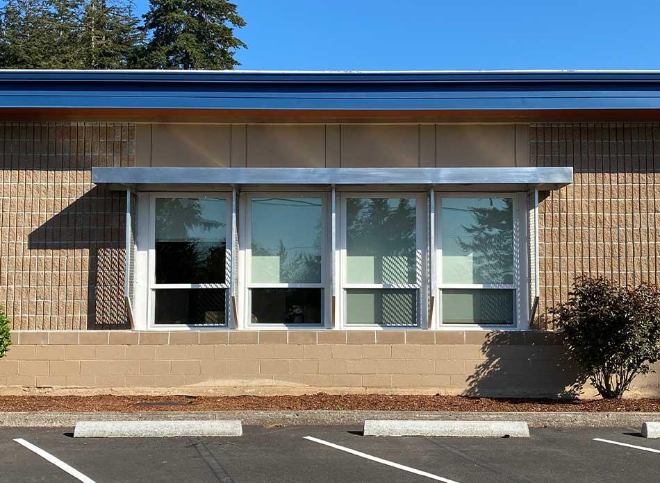 carrolls elementary exterior 3 - architectural services firm longview wa designs schools