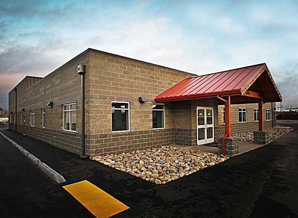 great western malting exterior - architectural services firm longview wa designs industrial building