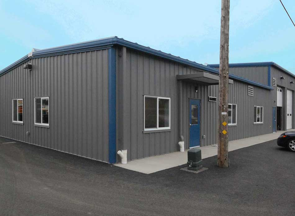 city of longview pw exterior - architectural services firm longview wa designs industrial