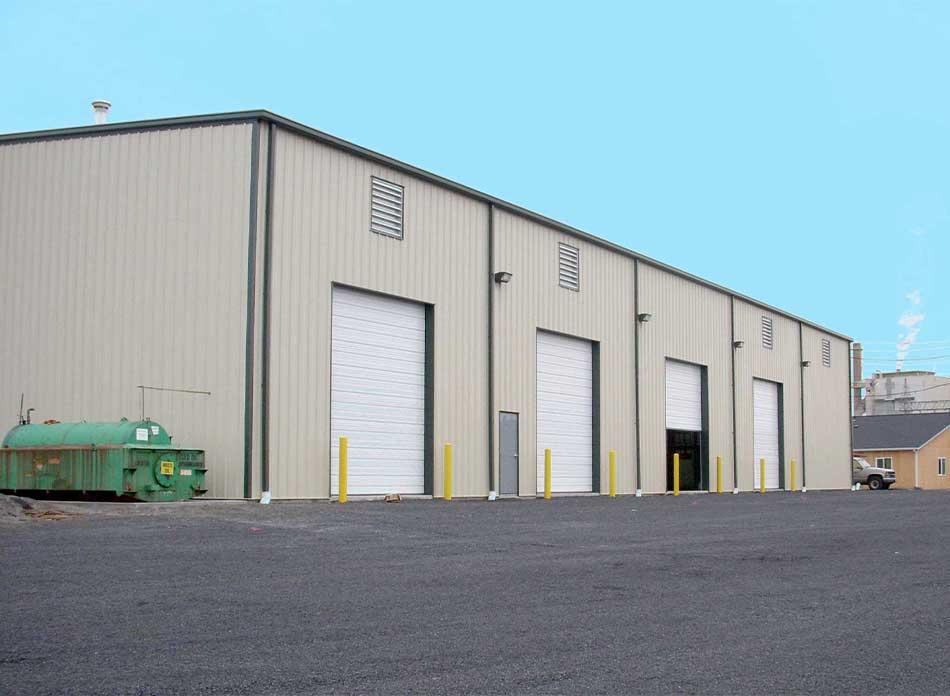 weyerhaeuser exterior - architectural services firm longview wa designs industrial shops
