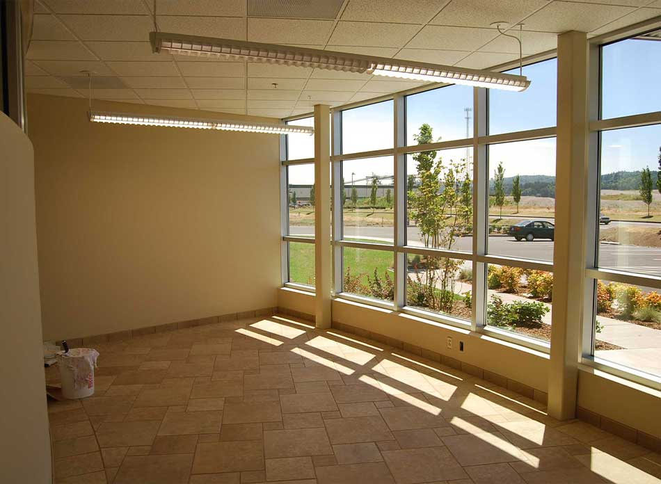 port of kalama bldg 7412 interior 1 - architectural services firm longview wa designs industrial