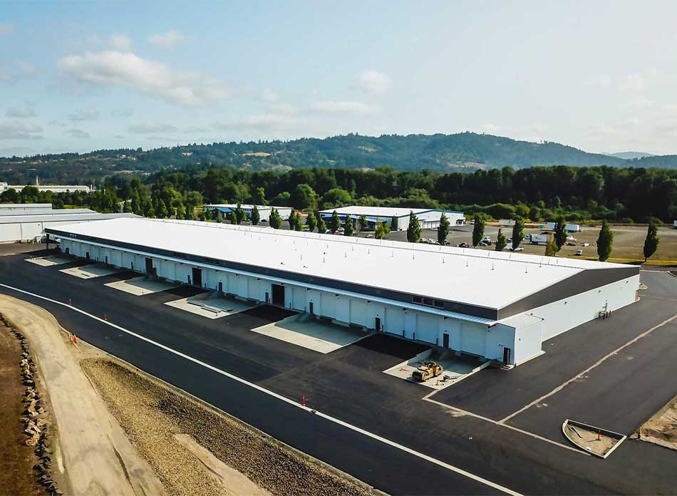 port of kalama bldg 7418 exterior 1 - architectural services firm longview wa designs industrial