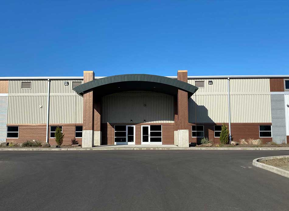 port of kalama bldg 7418 exterior 3 - architectural services firm longview wa designs industrial