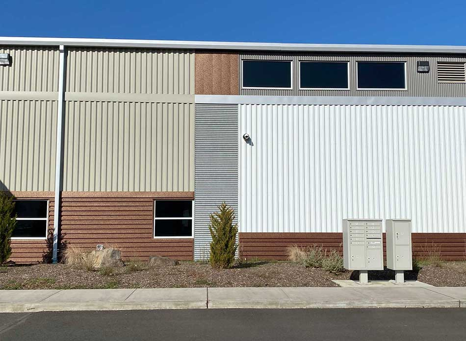 port of kalama bldg 7418 exterior 6 - architectural services firm longview wa designs industrial