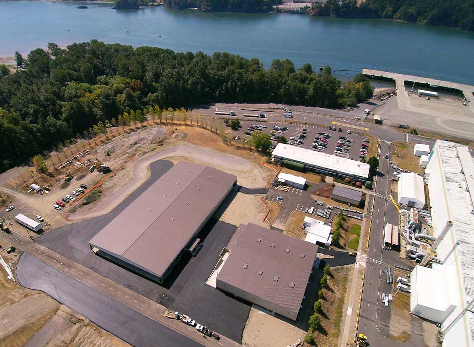 steelscape coil exterior - architectural services firm longview wa designs industrial warehouse