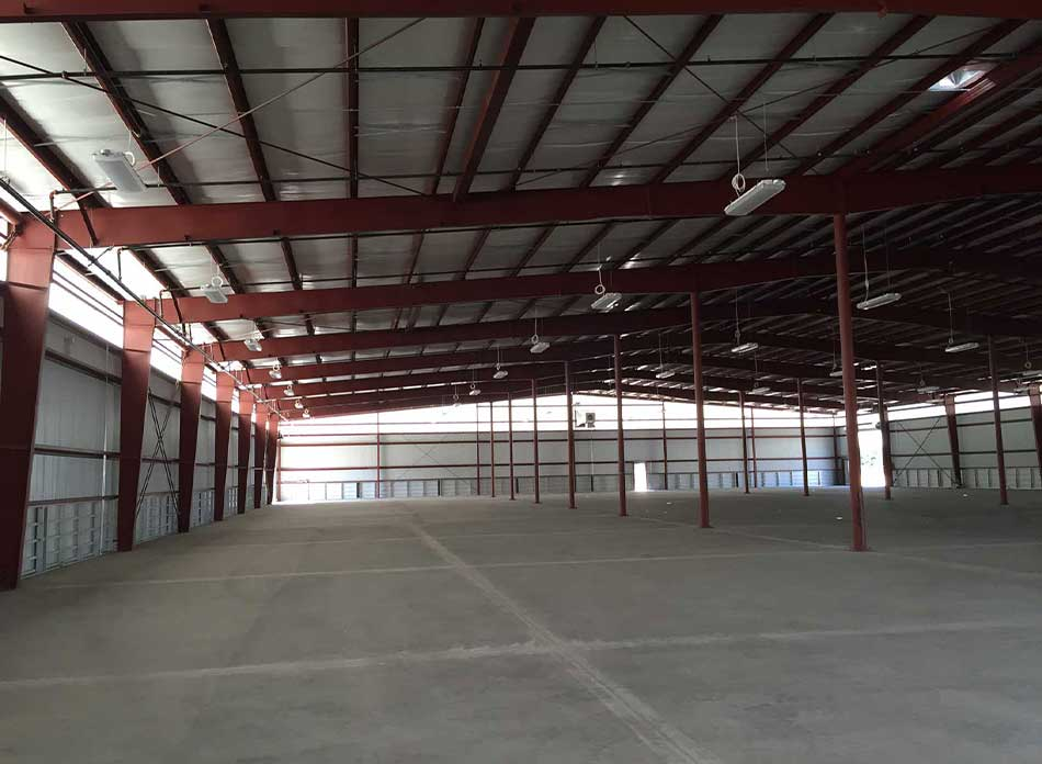 steelscape coil interior - architectural services firm longview wa designs industrial warehouse