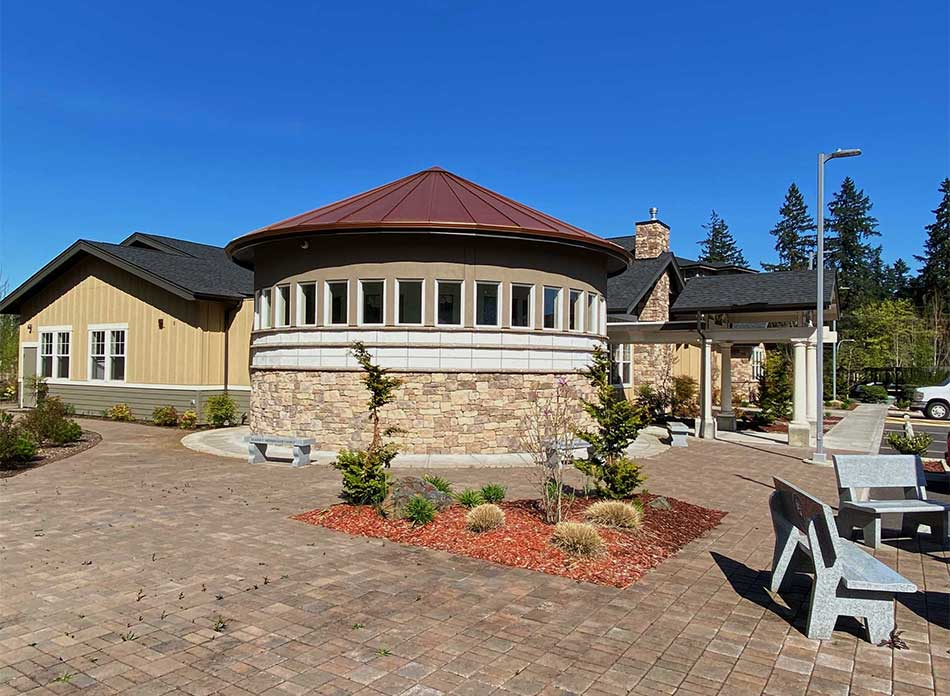 seasons of hope exterior - architectural services firm longview wa designs nonprofits