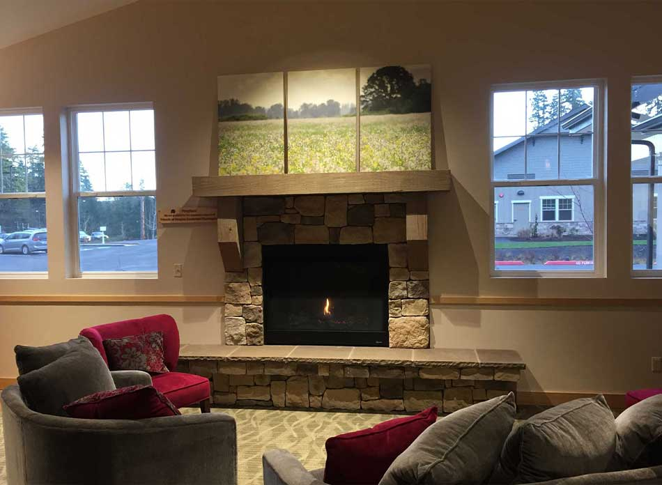seasons of hope fireplace - architectural services firm longview wa designs nonprofits
