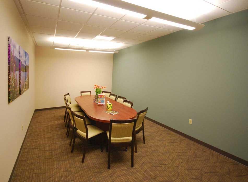 hospice care center interior 1 - architectural services firm longview wa designs nonprofits