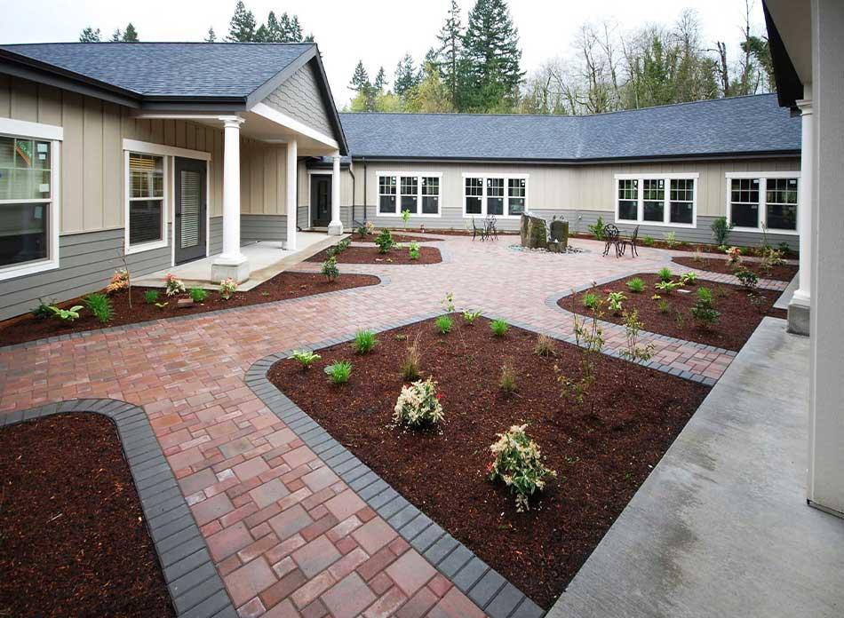 hospice care center exterior 2 - architectural services firm longview wa designs nonprofits