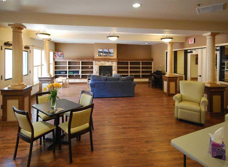 hospice care center interior 2 - architectural services firm longview wa designs nonprofits