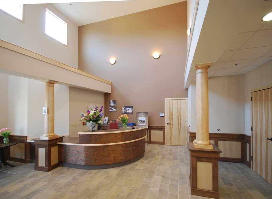 hospice care center interior 4 - architectural services firm longview wa designs nonprofits