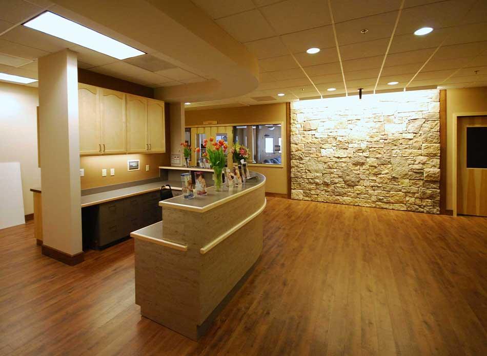 hospice care center interior 5 - architectural services firm longview wa designs nonprofits