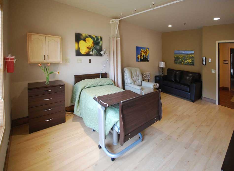 hospice care center interior 6 - architectural services firm longview wa designs nonprofits