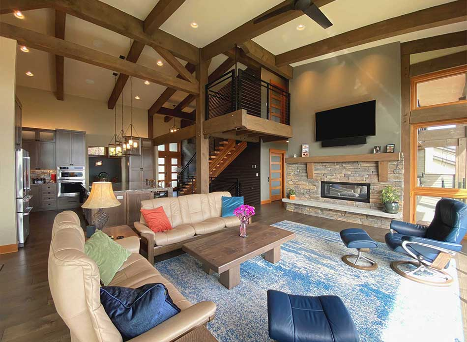 trillium residential interior 2 - architectural services firm longview wa designs custom residential