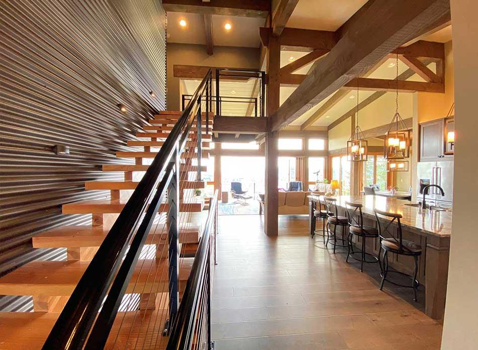 trillium residential interior 3 - architectural services firm longview wa designs custom residential