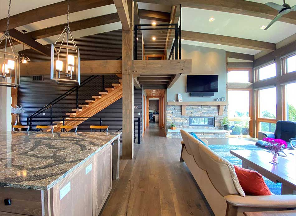 trillium residential interior 5 - architectural services firm longview wa designs custom residential